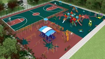 Готовые проекты детских площадок Romana
