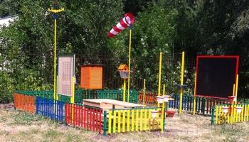 Метеоплощадка в детском саду №155 г.Саратова