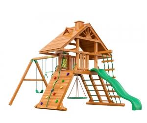 Детская площадка для дачи Крепость (Дерево)