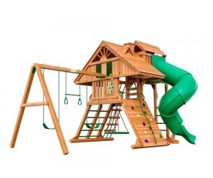 Детская площадка для дачи Крепость Deluxe 2