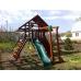 Детская площадка для дачи Крепость с рукоходом (Дерево)