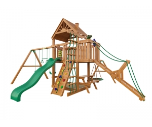 Детская площадка для дачи Пиратский дом (Дерево)