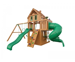 Детская площадка для дачи Шато 2 с трубой (Домик)