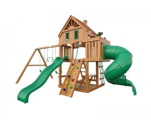 Детская площадка для дачи Шато с трубой (Домик)