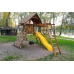 Детская деревянная площадка «Зарница» с рукоходом