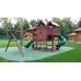Детская деревянная площадка «Горный домДелюкс»