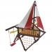Детская деревянная площадка «Фортуна»