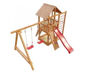 Деревянная детская площадка «Сибирика спорт»