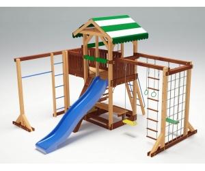 Деревянная детская площадка «Савушка 15»