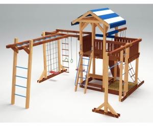 Деревянная детская площадка «Савушка 16»