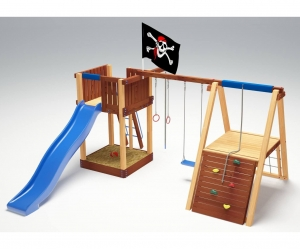 Деревянная детская площадка «Савушка 3»