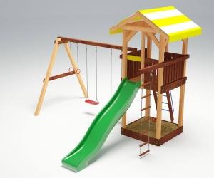 Деревянная детская площадка «Савушка 4»