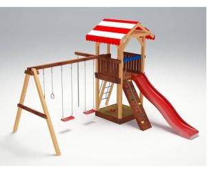 Деревянная детская площадка «Савушка 5»