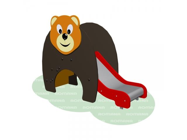 """Горка """"Медведь"""" Romana 110.10.00"""