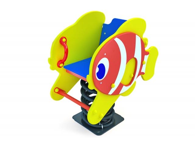 КА-1.21 Качалка на пружине Рыбка