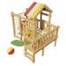 Игровая кровать-чердак «Соник»