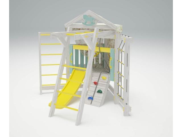 Игровой комплекс-чердак Савушка «Baby-10», угловой