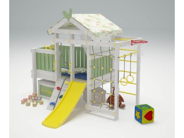 Игровой комплекс-чердак Савушка «Baby-3»
