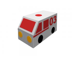 Контурная игрушка «Машина скорой помощи»