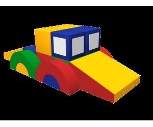 Мягкий игровой комплекс «Машинка»