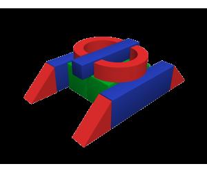 Мягкий игровой комплекс «Танк»