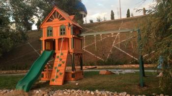 Детские площадки для дачи (фото)