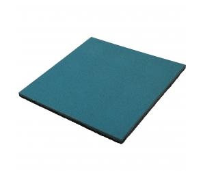 Резиновая плитка 500х500х20 мм. Синяя