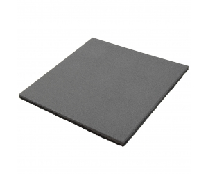 Резиновая плитка 500х500х20 мм. Серая